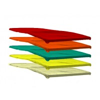 3622 Telo superiore capote colorato vari colori