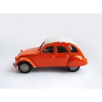 gadget17 2cv6 arancio capote bianca