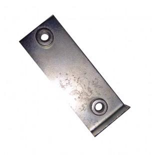 3902 Placca filettata per riscontro serratura am