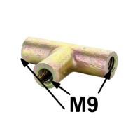 017 Raccordo a 3 vie tubi freni anni 50/60 M9