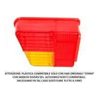 """1203sx Plastica faro posteriore sinistra originale """"seima"""""""