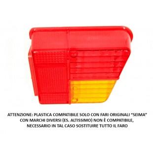 """1203dx Plastica faro posteriore destra originale """"seima"""""""