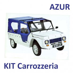 kit plastiche carrozzeria mehari azur kit sedili n p m citroen 2cv service ricambi. Black Bedroom Furniture Sets. Home Design Ideas