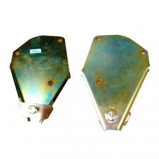 196sx Piastra supporto ammortizzatore anteriore sinistro