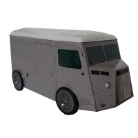 Camioncino HY grigio originale 20cm