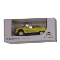 Modellino marca Citroën Mehari giallo