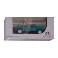 """Modellino marca Citroën Mehari azzurro """"3 inches"""""""