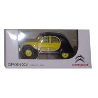"""Modellino marca Citroën 2cv Charleston giallo-nero """"3 inches"""""""