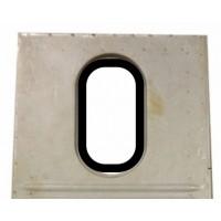 1340 Guarnizione vetro ovale portello posteriore AZU