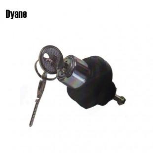 2908 Pulsante per serratura con chiave baule Dyane