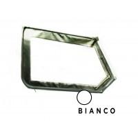 3640 Telo alto di porta sinistro BIANCO con cerniera retrovisore