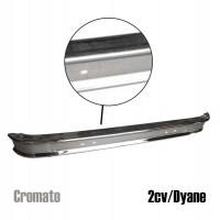 Paraurti posteriore CROMATO per 2CV / Dyane
