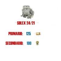 5062 Serie getti per carburatore 24/21 (primario 125, secondario 100)