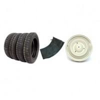 PR09 Kit promo lotto pneumatici 125-15 Wearwell + cerchioni + camere d'aria (322+504x4+354x4)
