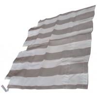 2626 Tenda capote parasole righe bianche-grigie DYANE prod. NPM