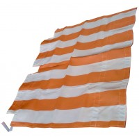 2628 Tenda capote parasole righe bianche-rosse DYANE prod. NPM