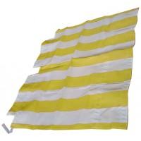 2630 Tenda capote parasole righe bianche-verdi DYANE prod. NPM