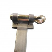 5954 Fascetta classica da stringere con cacciavite (largh. 0,9cm lungh. 100cm circa)