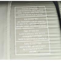 730 Adesivo lavaggio cartuccia su scatola filtro aria in metallo (10.000km/6.000miglia)