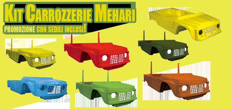 Kit carrozzeria Mehari